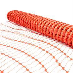 Absperrgitter aus Kunststoff auf Rolle 120cm L=50m