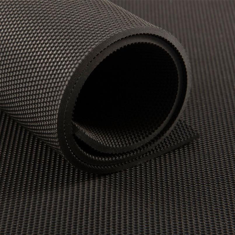 Antirutsch Matte schwarz 4x2mm (200cm breit)