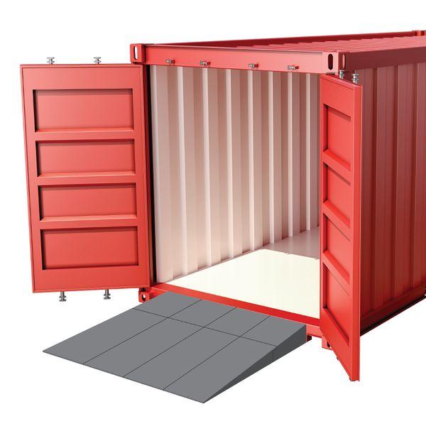 Containerrampe LxBxH=1250x2200x160mm