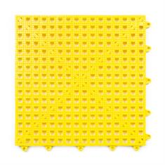 Duschmatte rutschfest gelb 90x90cm