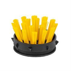 Einsatzbürsten für Ringmatte gelb