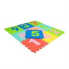 EVA-SCHAUM Puzzlematten 0-9 Ziffern 300x300x10mm (10 Fliesen