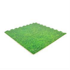 EVA-SCHAUM Puzzlematten Gras 600x600x12mm (Set 4 St.)