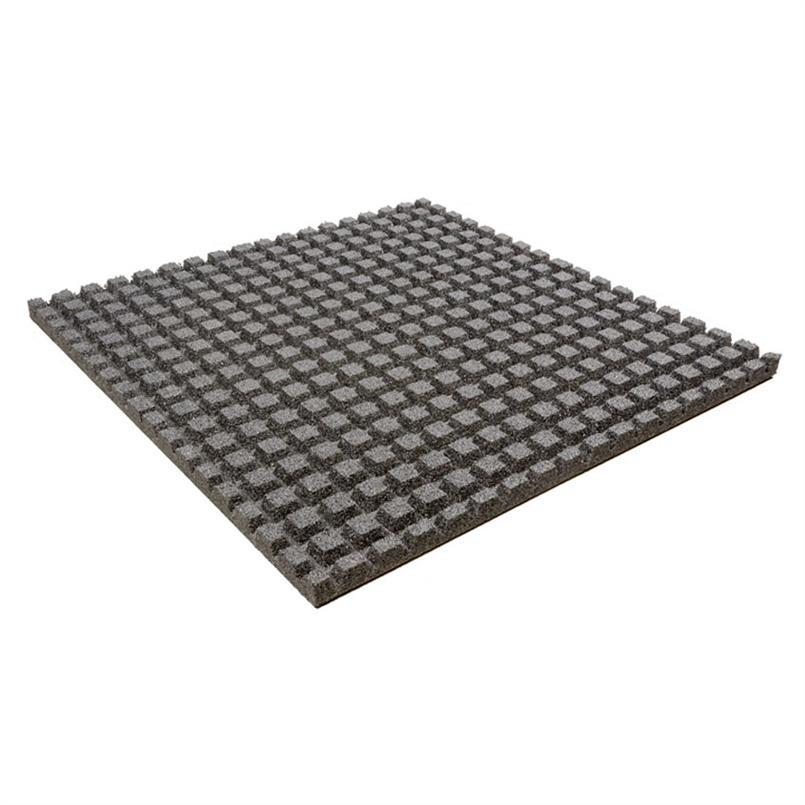Fallschutzmatte 100x100x4,5cm grau