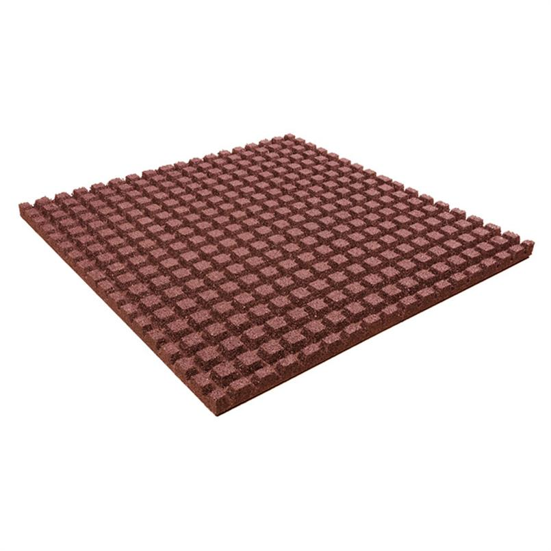 Fallschutzmatte 100x100x4,5cm rot