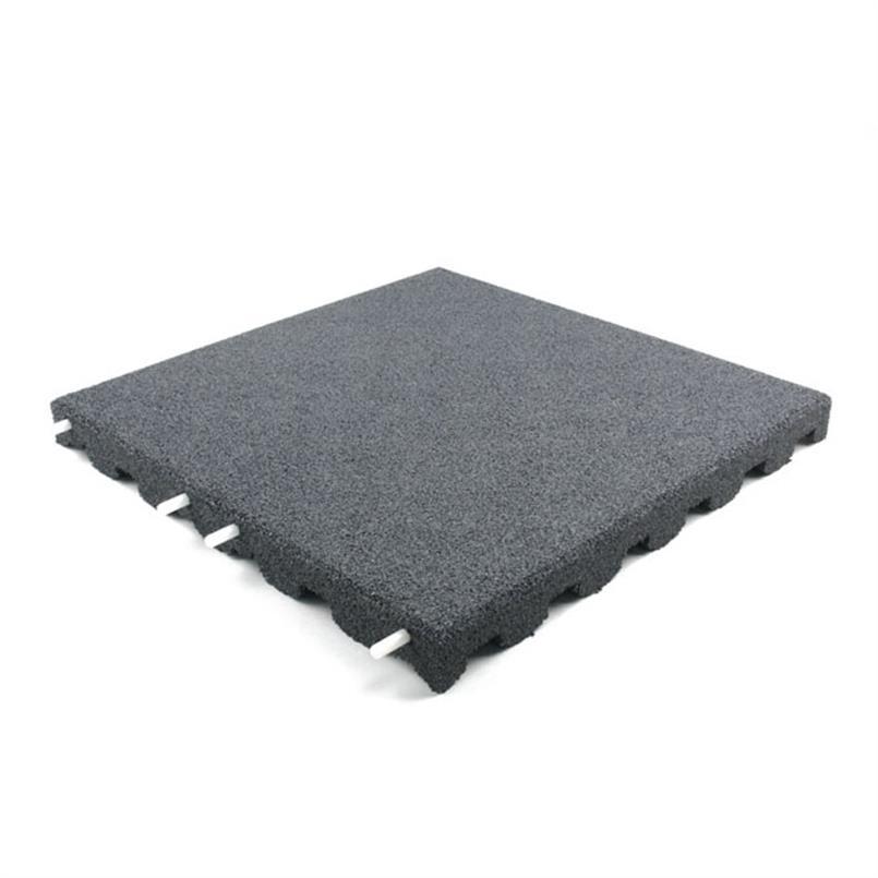 Fallschutzmatte 50x50x7cm grau
