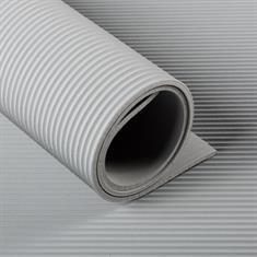 Feinriefenmatte grau 3mm (120cm breit)