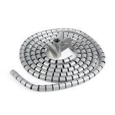 Flexibler Kabelschlauch grau D=10mm L=3000mm