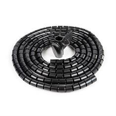 Flexibler Kabelschlauch schwarz D=10mm L=3000mm