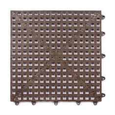 Gitterfliese braun 300x300x13mm