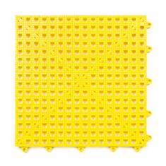 Gitterfliese gelb 300x300x13mm