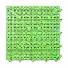 Gitterfliese grün 300x300x13mm