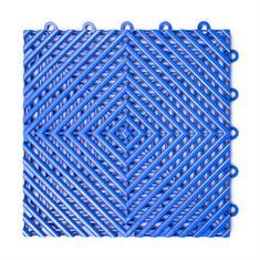 Gitterfliese hart blau 300x300x15mm