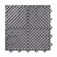 Gitterfliese hart dunkelgrau 300x300x15mm