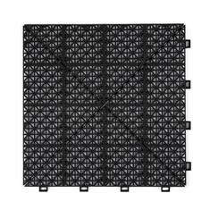 Gitterfliese malmo schwarz 300x300x10mm