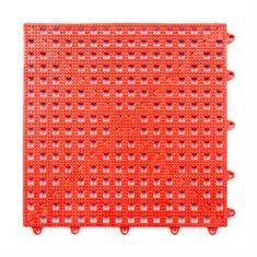 Gitterfliese rot 300x300x13mm