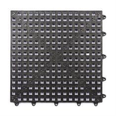 Gitterfliese schwarz 300x300x13mm