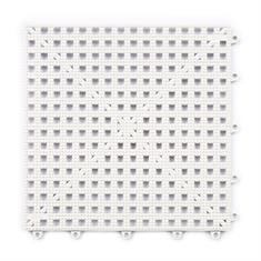 Gitterfliese weiss 300x300x13mm