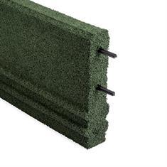 Gummi Bordstein grün 100x25x5cm