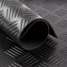Gummiläufer Riffelblech 5mm (LxB=1000x100cm)