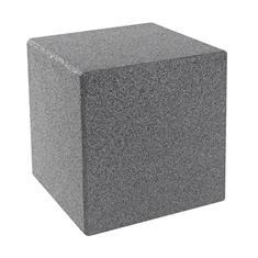 Gummiwürfel mit Bodenstift 40x40x40cm grau