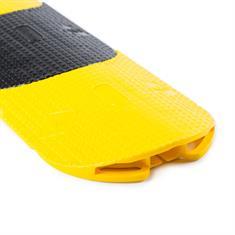 Kabelbrücke flexibel gelb/schwarz 950x150x27mm