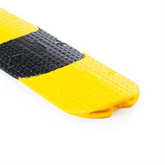 Kabelbrücke flexibel gelb/schwarz 985x80x15mm