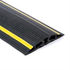 Kabelkanal 5 Kanäle schwarz/gelb 9000x102x17mm