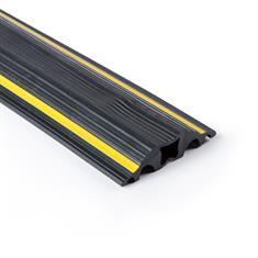 Kabelkanal 5 Kanäle schwarz/gelb 9000x64x15mm