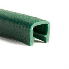 Kantenschutzprofil dunkelgrün 11-12mm /BxH= 17x14,4mm