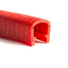 Kantenschutzprofil rot 11-12mm /BxH= 17x14,4mm