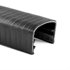 Kantenschutzprofil schwarz 28-32mm /BxH= 36x25,4mm