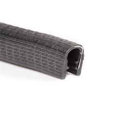 Kantenschutzprofil schwarz 6-8mm /BxH= 13x15mm