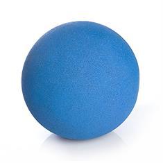 Kletterball mit Bodenstift 500mm EPDM blau