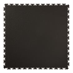 Klickfliese Hammerschlag schwarz 500x500x4,5mm