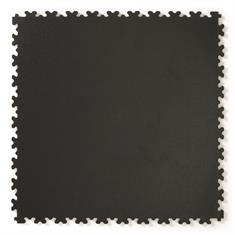 Klickfliese Hammerschlag schwarz 500x500x4mm