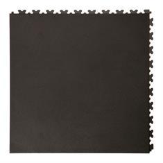 Klickfliese Leder schwarz 500x500x5,5mm