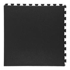 Klickfliese Rauhstruktur schwarz 458x458x5mm