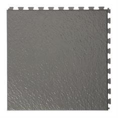 Klickfliese Schieferstein dunkelgrau 458x458x5mm