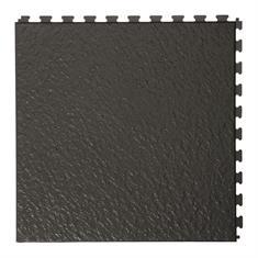 Klickfliese Schieferstein schwarz 458x458x5mm