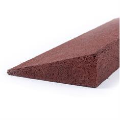 Randstein rot 50,5x13x4,5cm