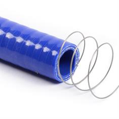 Silikon Spiralschlauch blau DN=25mm L=1000mm