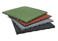 Terrassenplatten Gummi